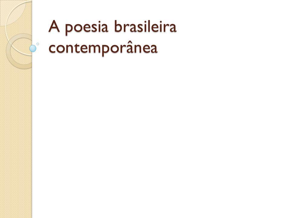 A poesia dos anos 1970 Com a promulgação do AI 5, em 1968, a produção cultural do país entrou em recesso por tempo indeterminado.
