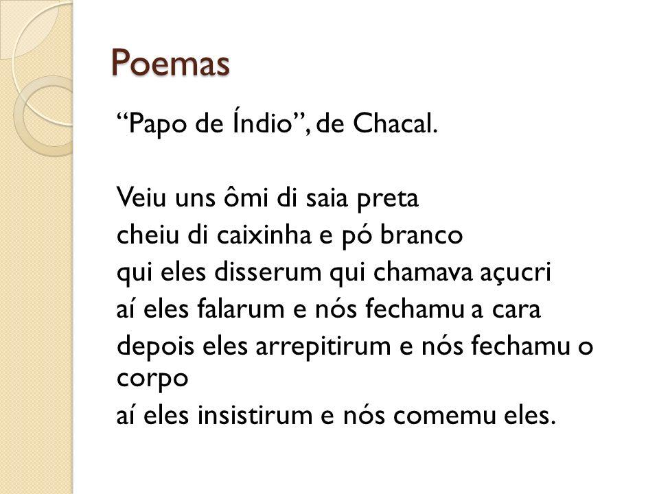 Poemas Prezado Cidadão, de Chacal.Colabore com a Lei Colabore com a Light mantenha luz própria.
