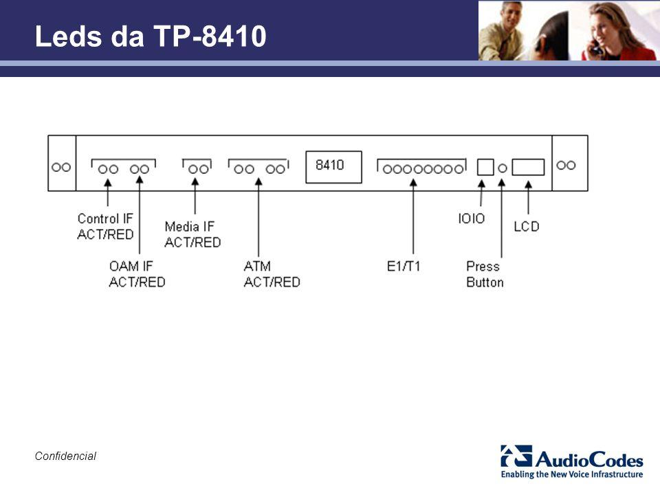 Confidencial Leds da TP-8410