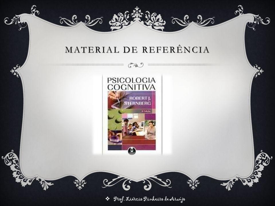 Prof. Liércio Pinheiro de Araújo PSICOLOGIA COGNITIVA CAP. 1 Robert J. Sternberg