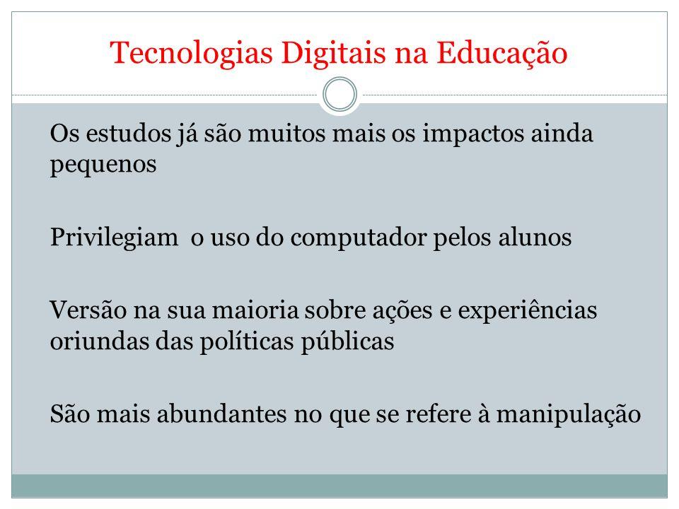Tecnologias Digitais na Educação Formação de professores Tema marginal nas duas últimas Conferências Nacionais 2010 – a capa do Documento Base (papel e lápis)