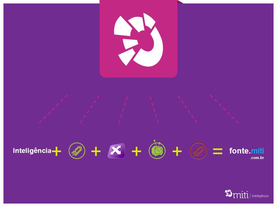A SóClipping é a plataforma da MITI para monitoramento de rádio e TV.