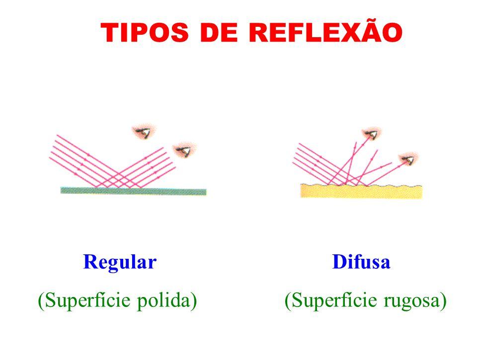 Fenômenos Ópticos Raio incidente(RI) Raio refletido(RR) 1.Reflexão da luz
