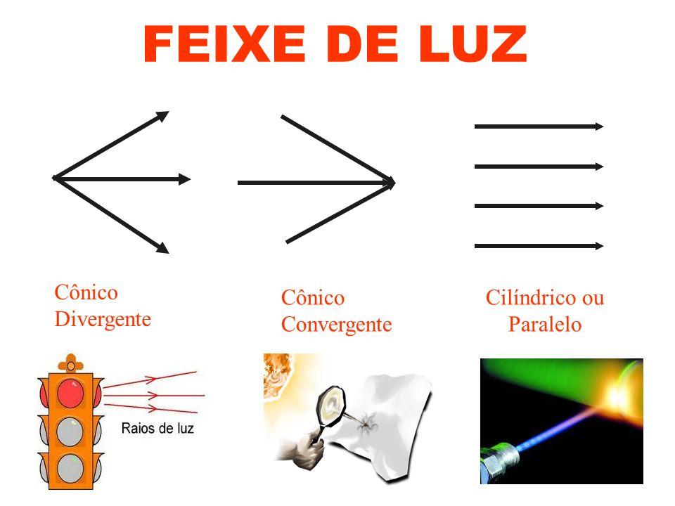 É representado por um segmento de reta orientado que possui origem na fonte de luz e extremidade,indicando sua direção e sentido de propagação no meio