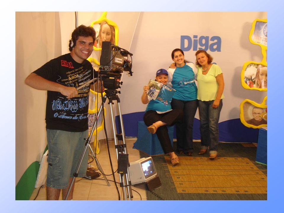 2006 - campanha DIGA SIM se espalha pelo BRASIL: Na TV Imaculada Conceição