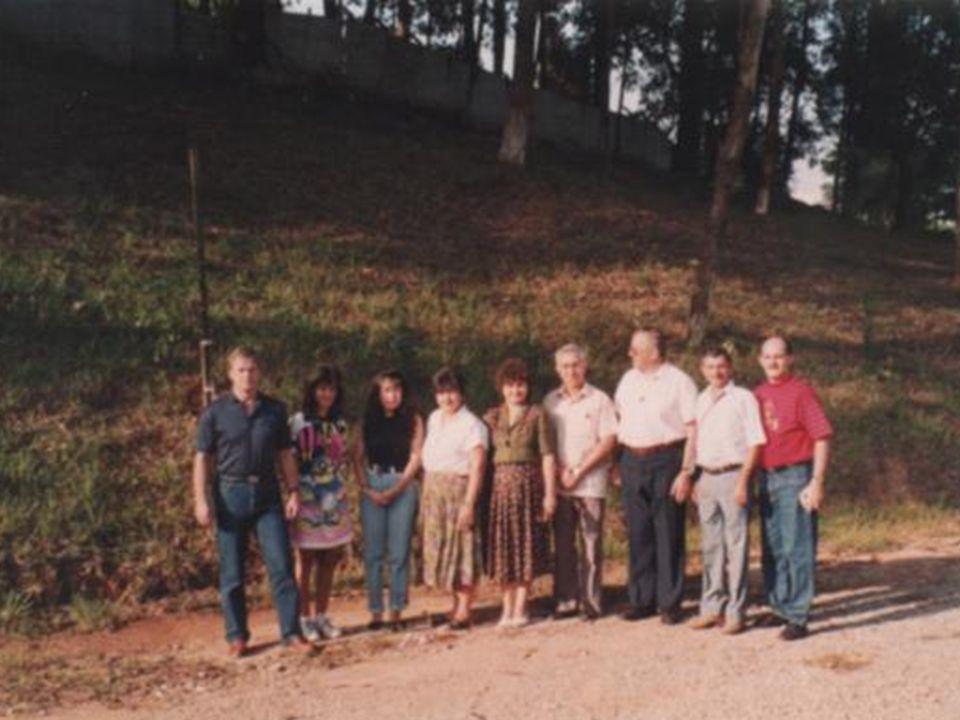em 1992 a MI recebeu a visita do Frei Rufino e de mílites do Paraguai, que fizeram um estágio em Santo André e levaram o programa Consagração a Nossa Senhora para aquele país?