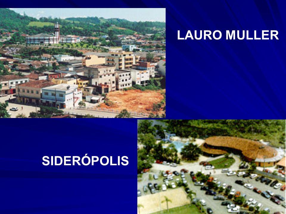 LAURO MULLER SIDERÓPOLIS