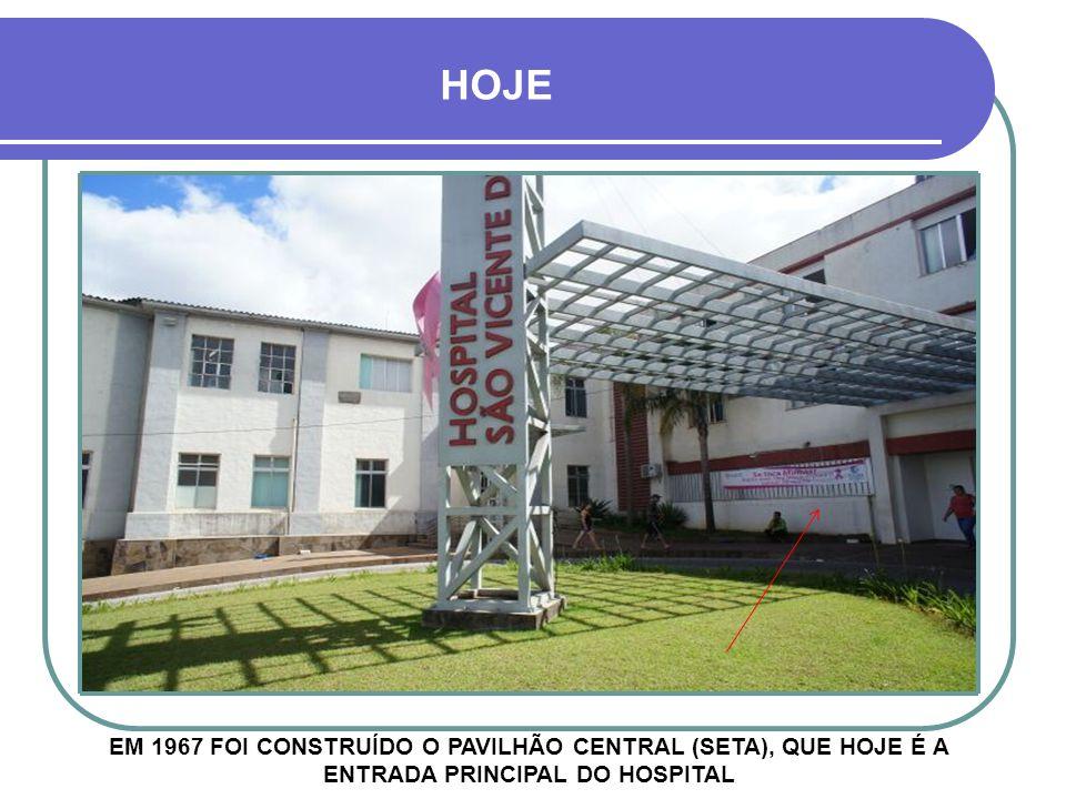 1944 - HOSPITAL SÃO VICENTE PAVILHÃO SÃO JOSÉ AO FUNDO