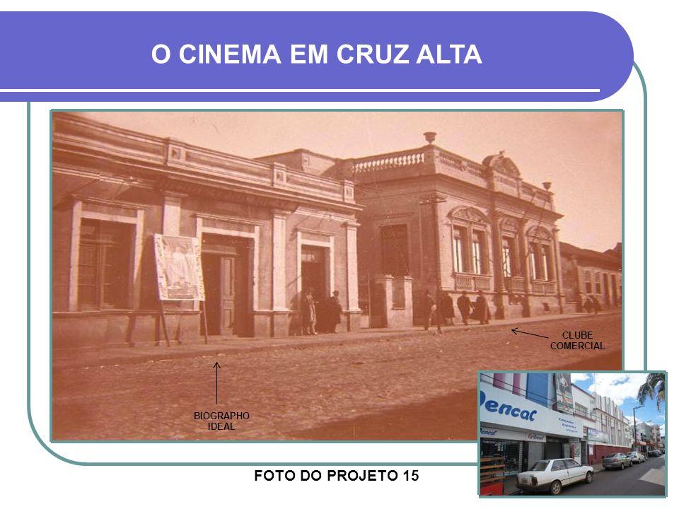 TEATRO CARLOS GOMES NA SETA – FOTO DO PROJETO 132 O CINEMA EM CRUZ ALTA