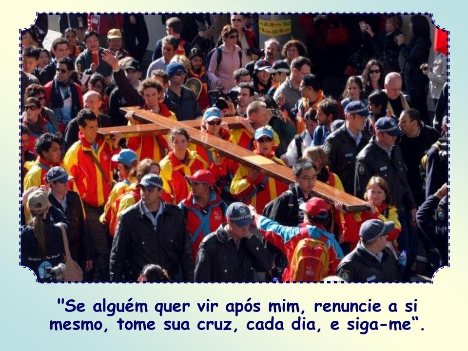 E você não mais terá inveja de ninguém. Aí sim, você poderá considerar-se seguidor de Cristo: Perceberá, então, que a cruz é o caminho para se ter, já