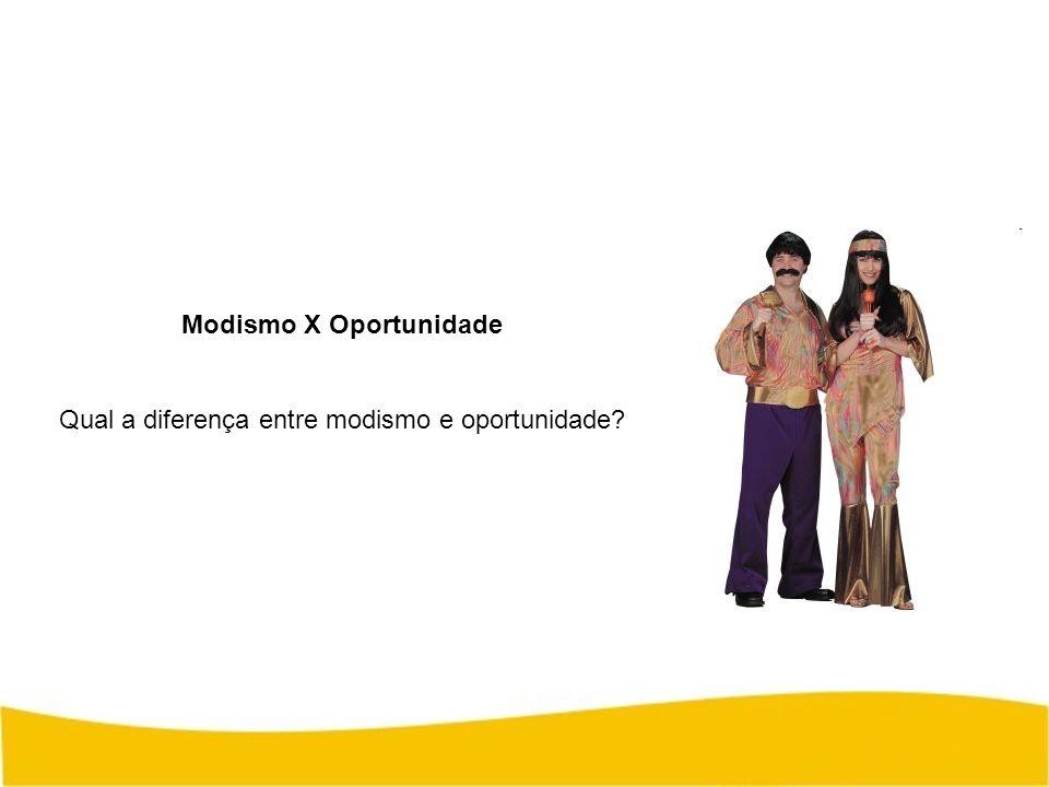 Modismo X Oportunidade Qual a diferença entre modismo e oportunidade?