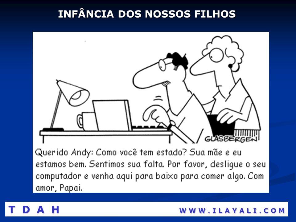 INFÂNCIA DOS NOSSOS FILHOS