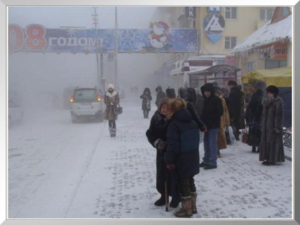 Depressa descobri que, ali, temperaturas na casa dos 40ºC negativos são descritas como frio, mas não como muito frio.