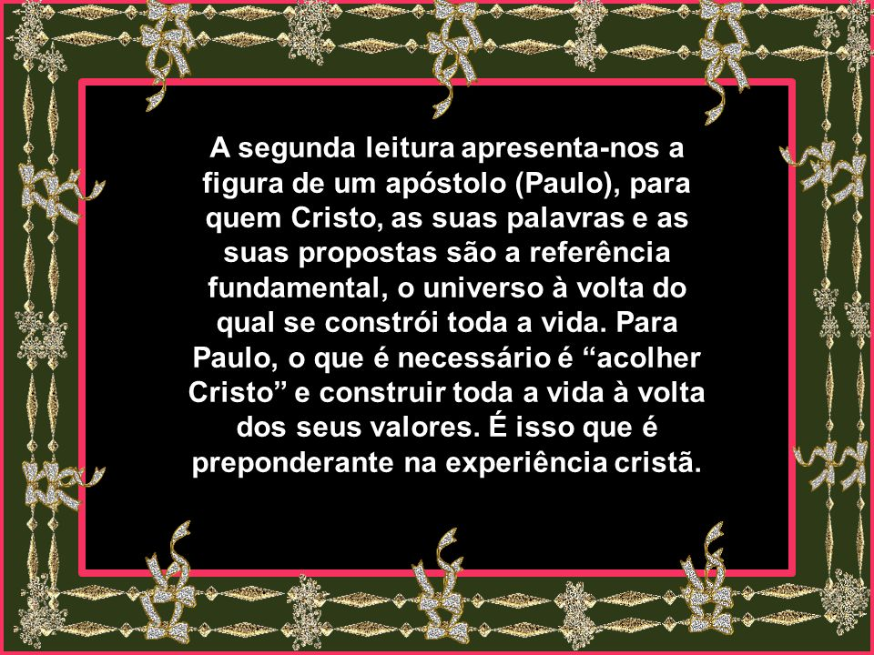 Cada vez mais, o sagrado sacramento da hospitalidade est á em crise,. O ego í smo, o fechamento, o salve-se quem puder, o cada um que se meta na sua v