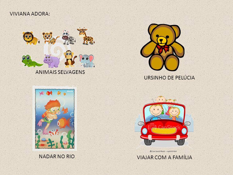 VIVIANA ADORA: ANIMAIS SELVAGENS URSINHO DE PELÚCIA NADAR NO RIO VIAJAR COM A FAMÍLIA
