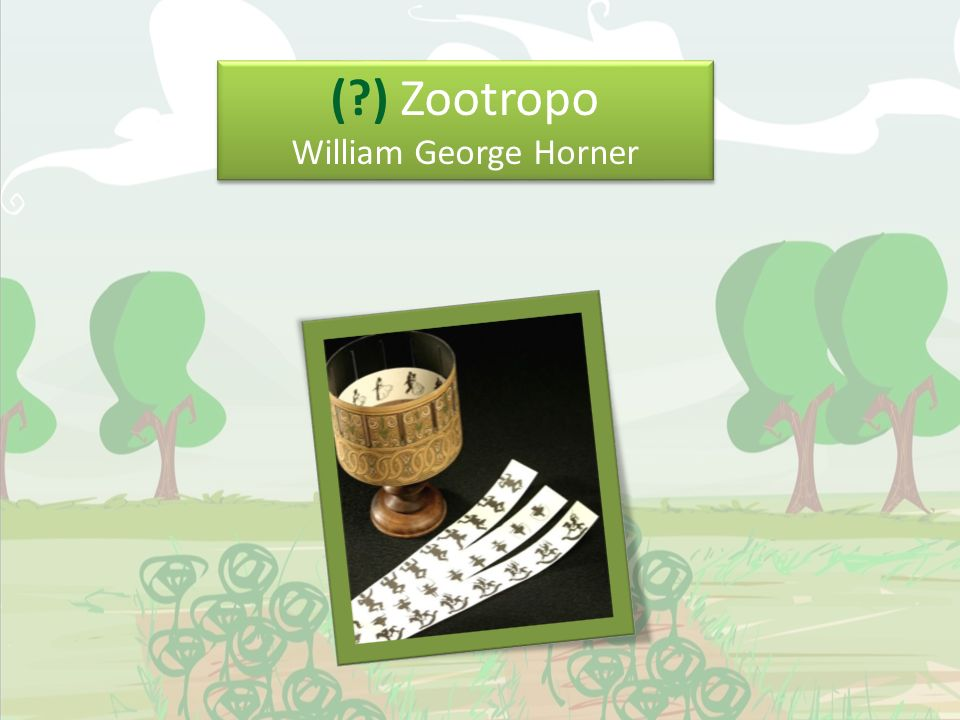 (?) Zootropo William George Horner