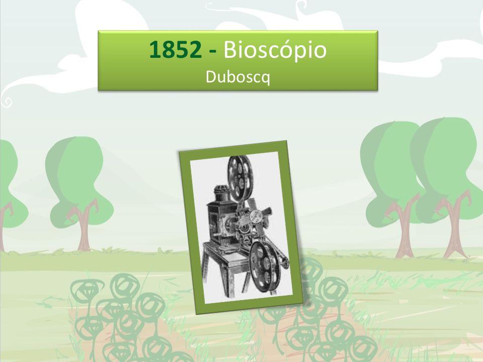 1852 - Bioscópio Duboscq 1852 - Bioscópio Duboscq