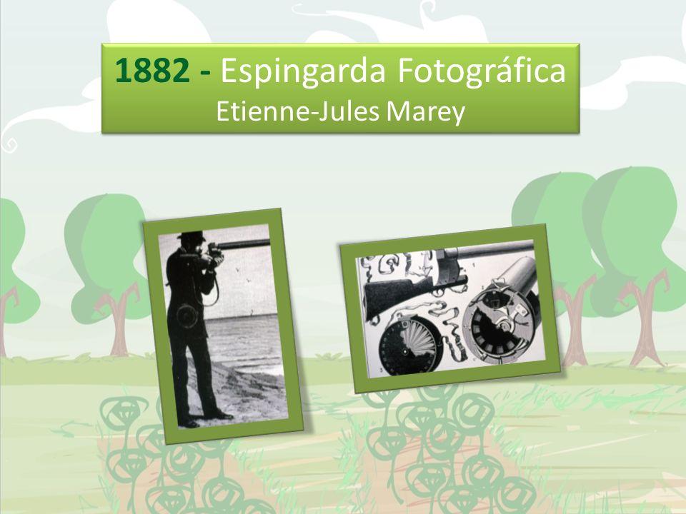 1882 - Espingarda Fotográfica Etienne-Jules Marey 1882 - Espingarda Fotográfica Etienne-Jules Marey