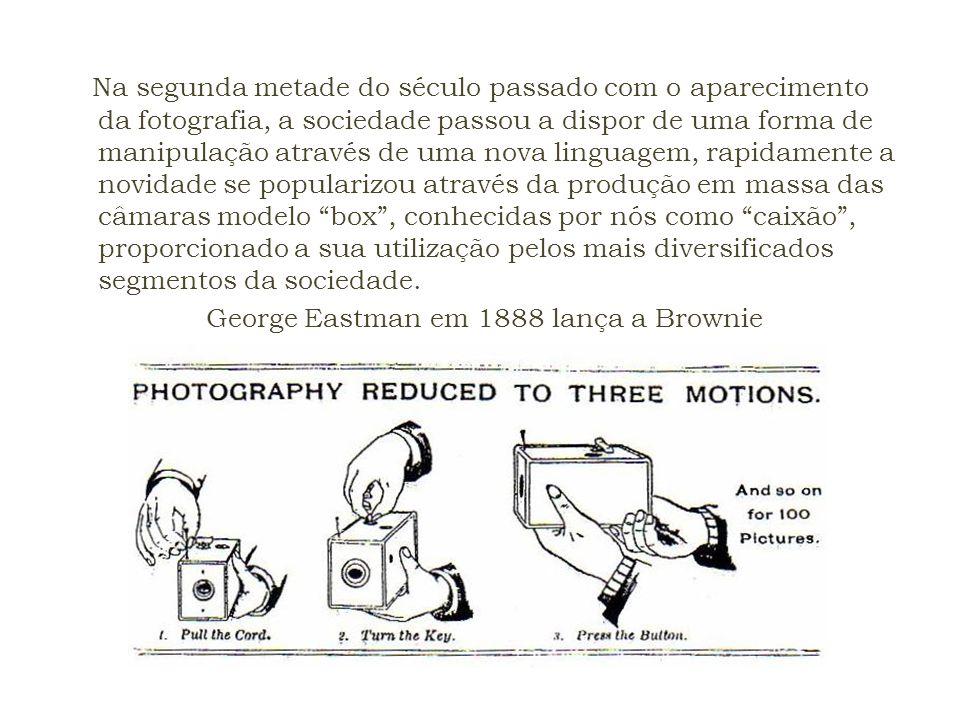 Na segunda metade do século passado com o aparecimento da fotografia, a sociedade passou a dispor de uma forma de manipulação através de uma nova ling
