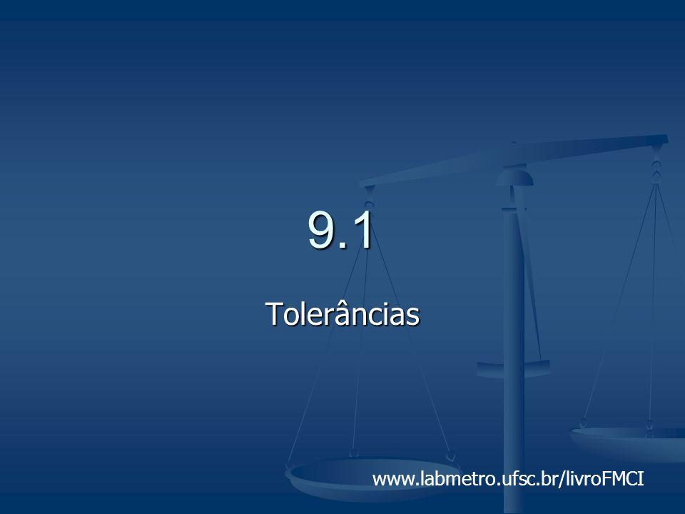 www.labmetro.ufsc.br/livroFMCI 9.1 Tolerâncias