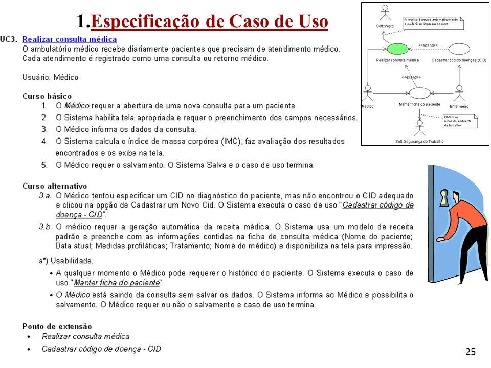 25 1.Especificação de Caso de Uso