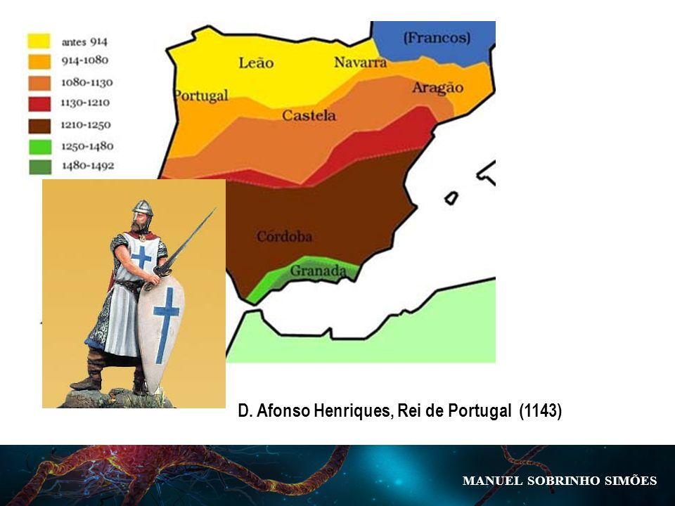 MANUEL SOBRINHO SIM Õ ES D. Afonso Henriques, Rei de Portugal (1143)