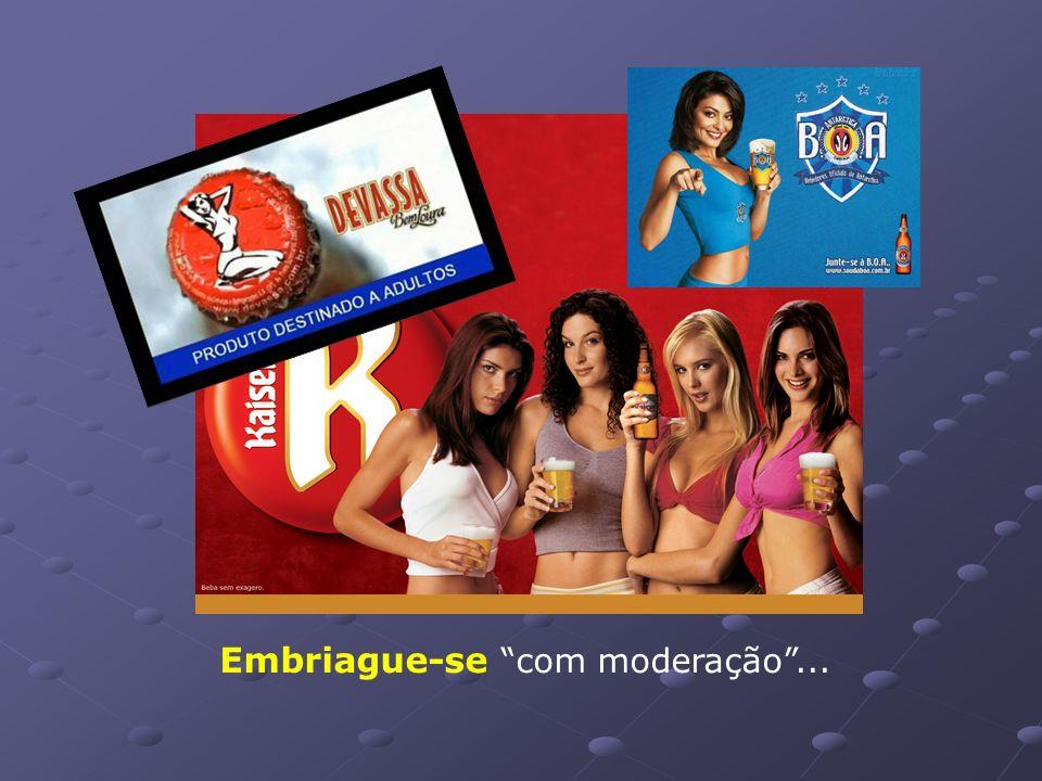 Uma série de estudos demonstra que, no Brasil, os jovens bebem cada vez mais e, ainda por cima, começam mais cedo. É simplesmente risível imaginar que