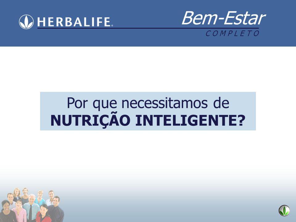 Bem-Estar C O M P L E T O. O que a Herbalife oferece Controle de peso para: Eliminar