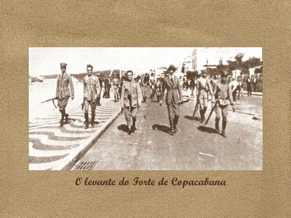 O levante do Forte de Copacabana