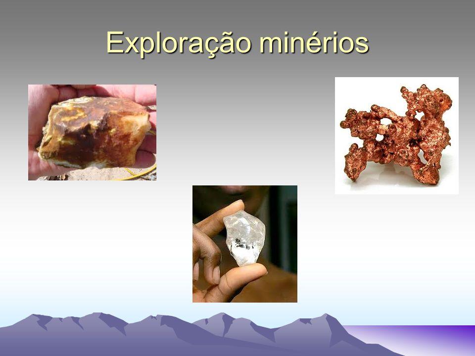 Exploração minérios