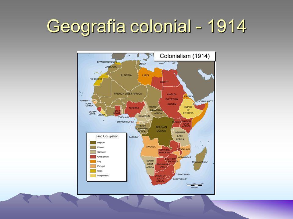Geografia colonial - 1914
