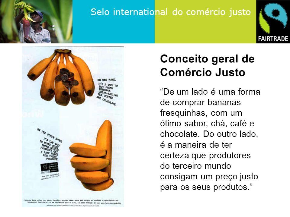 Selo international do comércio justo 3. Critérios da FLO
