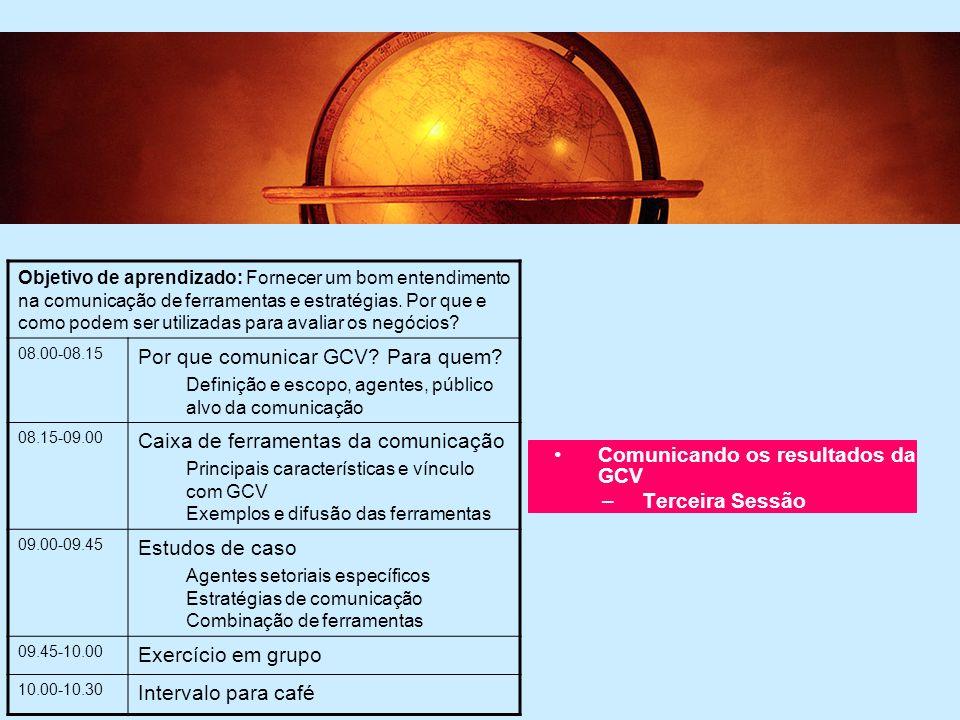 16 ESTÁGIO UM – PLANEJAR Estabelecer Políticas Organisar Revisão e Pesquisa Estabelecer metas Plan Implementar GCV: o ciclo Planejar-Fazer-Conferir-Agir