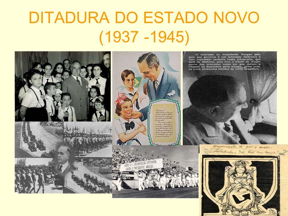 DITADURA DO ESTADO NOVO (1937 -1945)