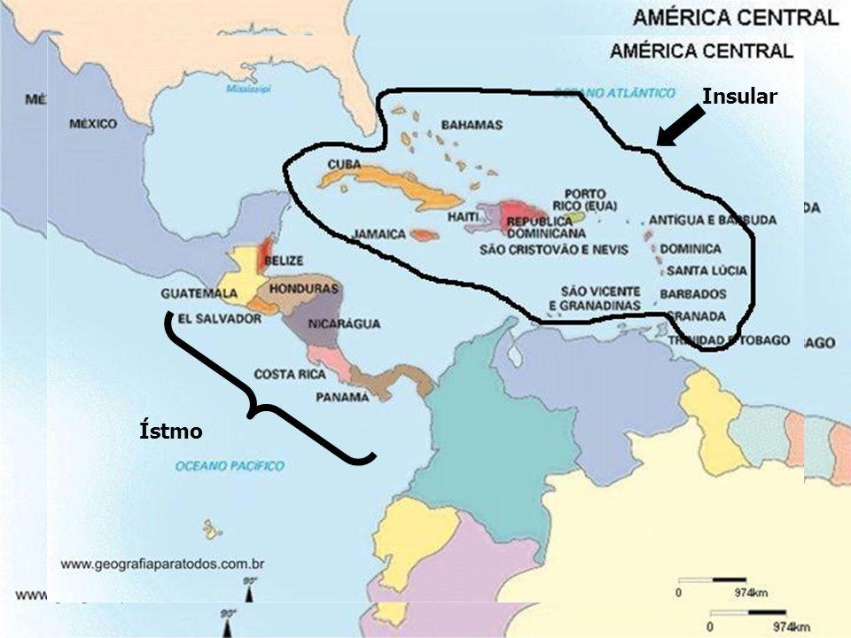 05.Na ilha de La Hispaniola se situam os seguintes países: a) Cuba e Jamaica.