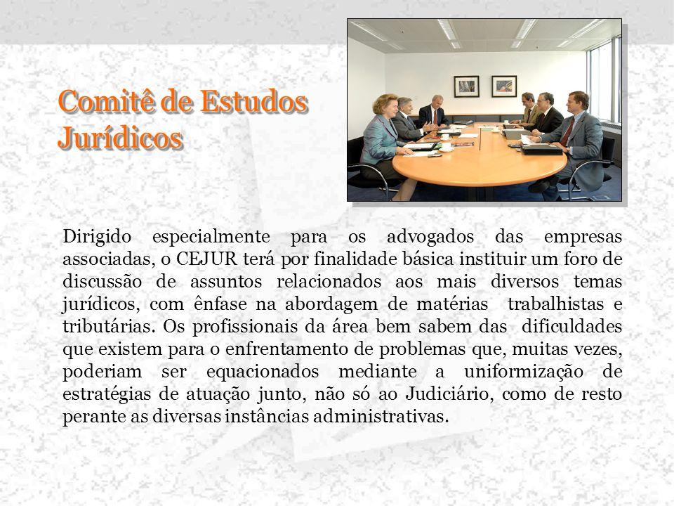 INICIATIVAS QUE INTEGRAM A 1ª ETAPA DO PROJETO -. Comitê de Estudos Jurídicos.