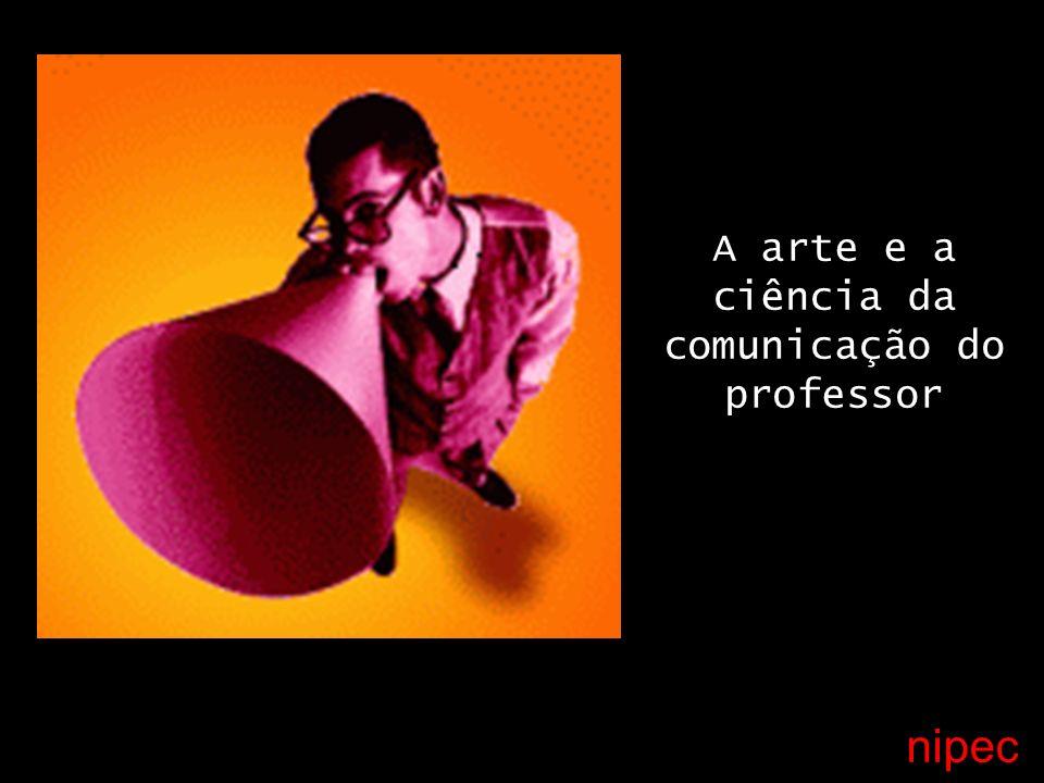 nipec A arte e a ciência da comunicação do professor