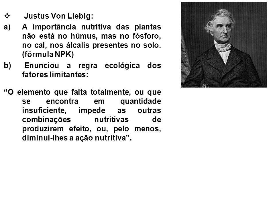 O Nascimento da Limnologia François-Alphonse Forel (1841- 1912) é considerado o Pai fundador da Limnologia.