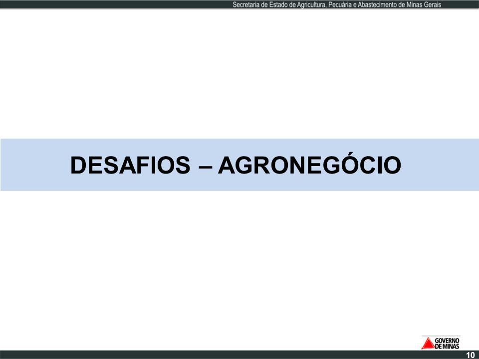DESAFIOS – AGRONEGÓCIO 10