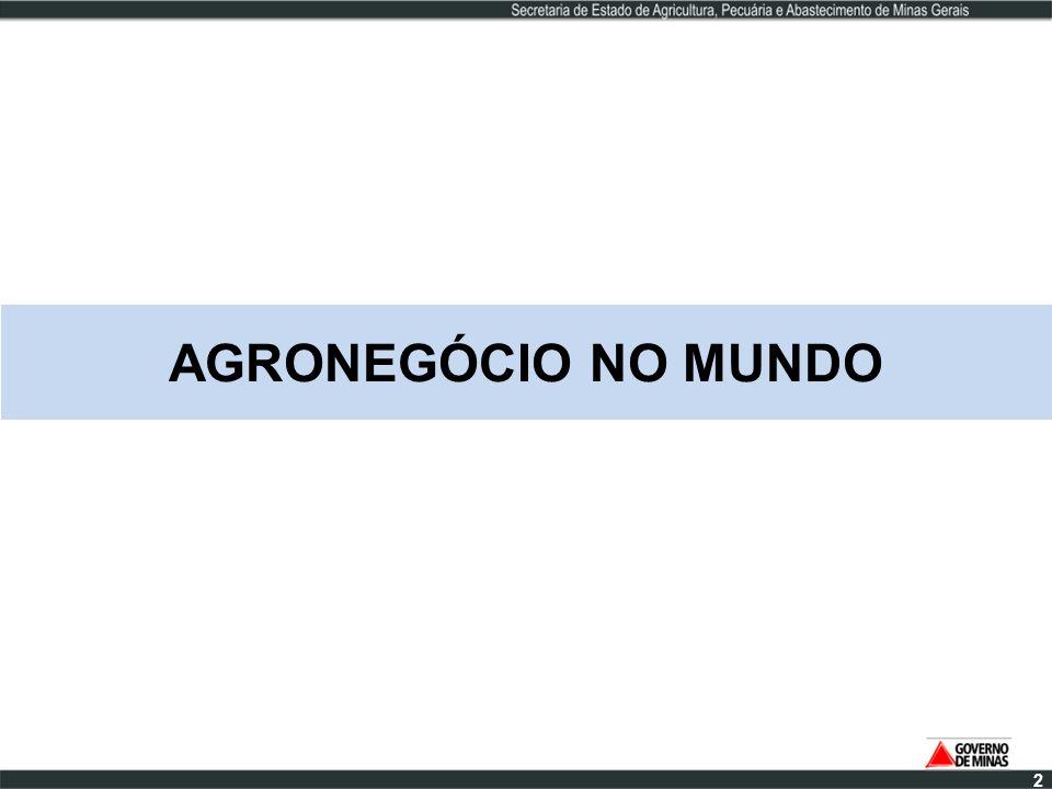 AGRONEGÓCIO NO MUNDO 2