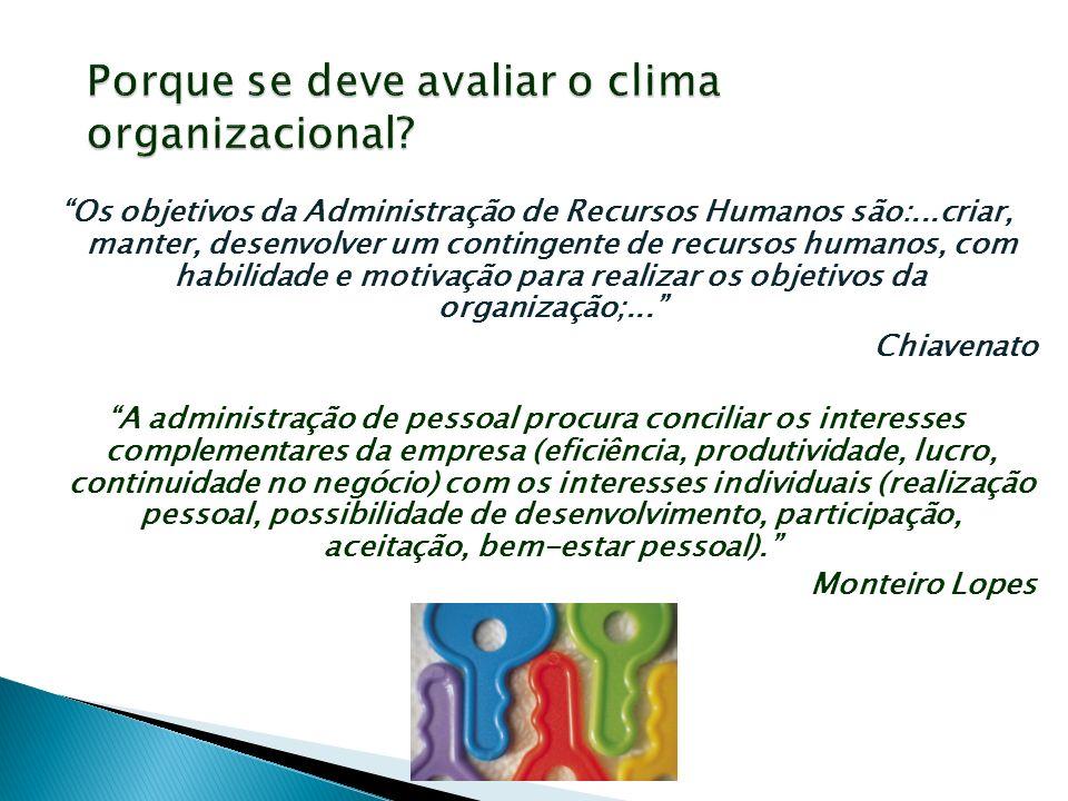 Os objetivos da Administração de Recursos Humanos são:...criar, manter, desenvolver um contingente de recursos humanos, com habilidade e motivação par