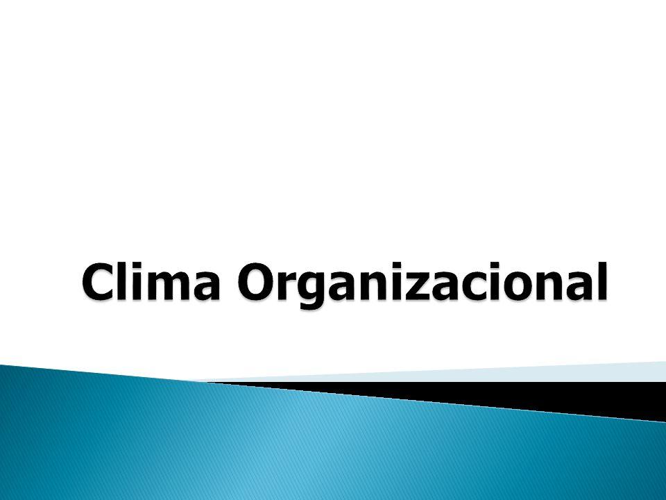 O clima é o indicador do grau de satisfação dos membros de uma empresa, em relação a diferentes aspectos da cultura ou realidade aparente da organização, tais como políticas de RH, modelo de gestão, missão da empresa, processo de comunicação, valorização profissional e identificação com a empresa.