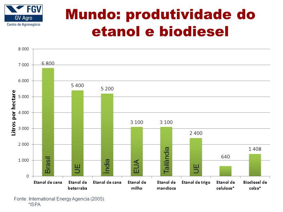 Fonte: International Energy Agencia (2005).