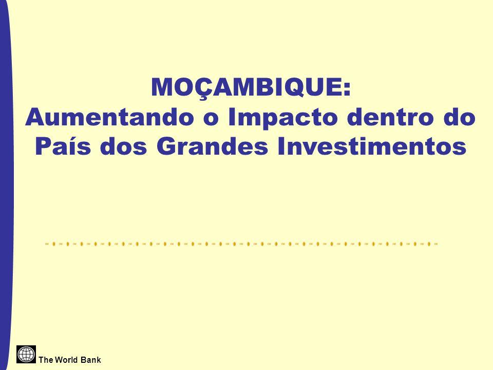 The World Bank MOÇAMBIQUE: Aumentando o Impacto dentro do País dos Grandes Investimentos