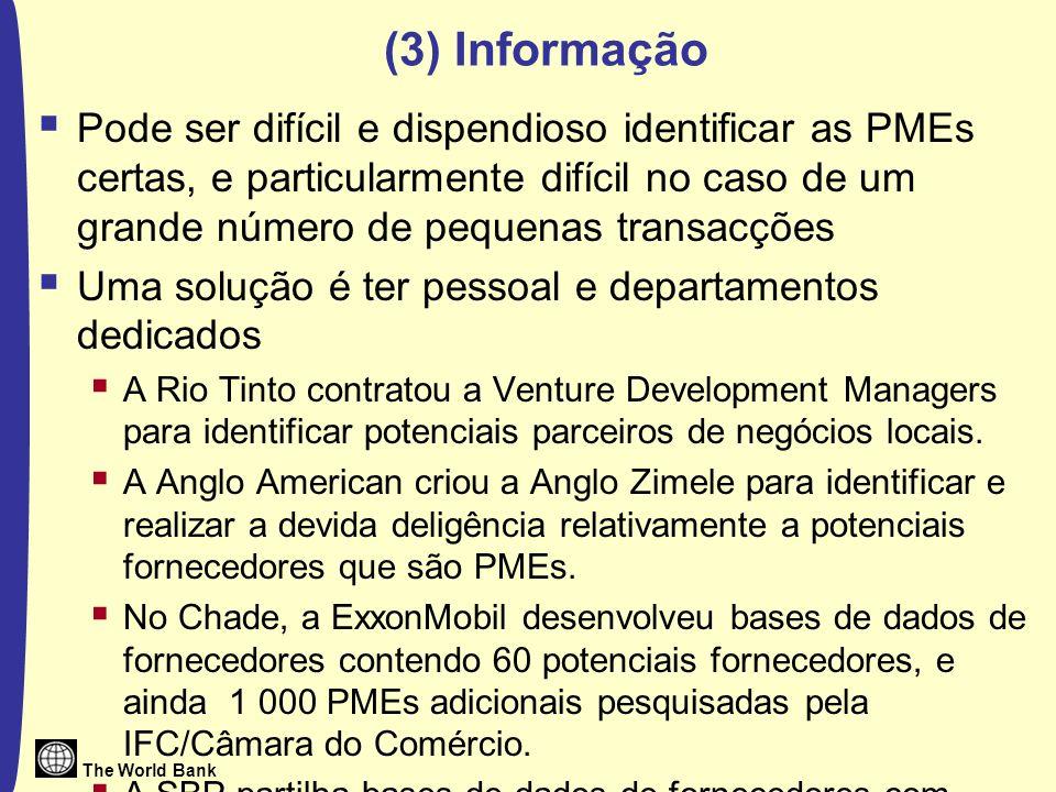 The World Bank Iniciativa de Transparência das Indústrias Extractivas Os Critérios da EITI 1.