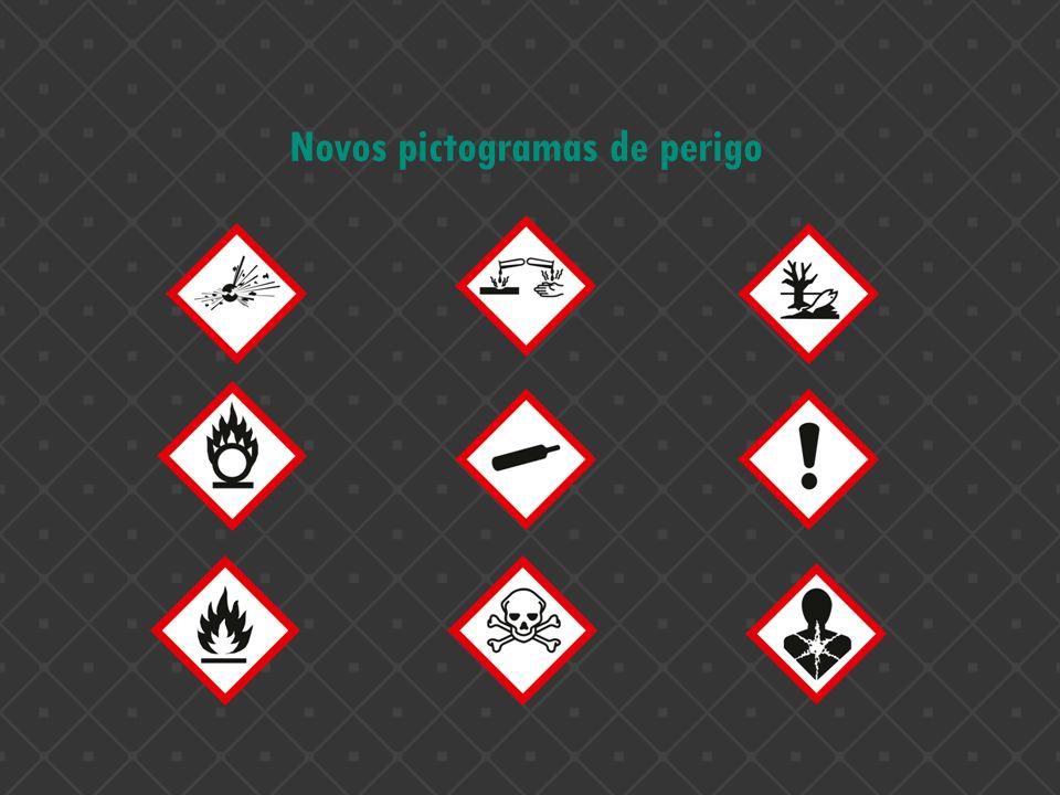 Novos pictogramas de perigo