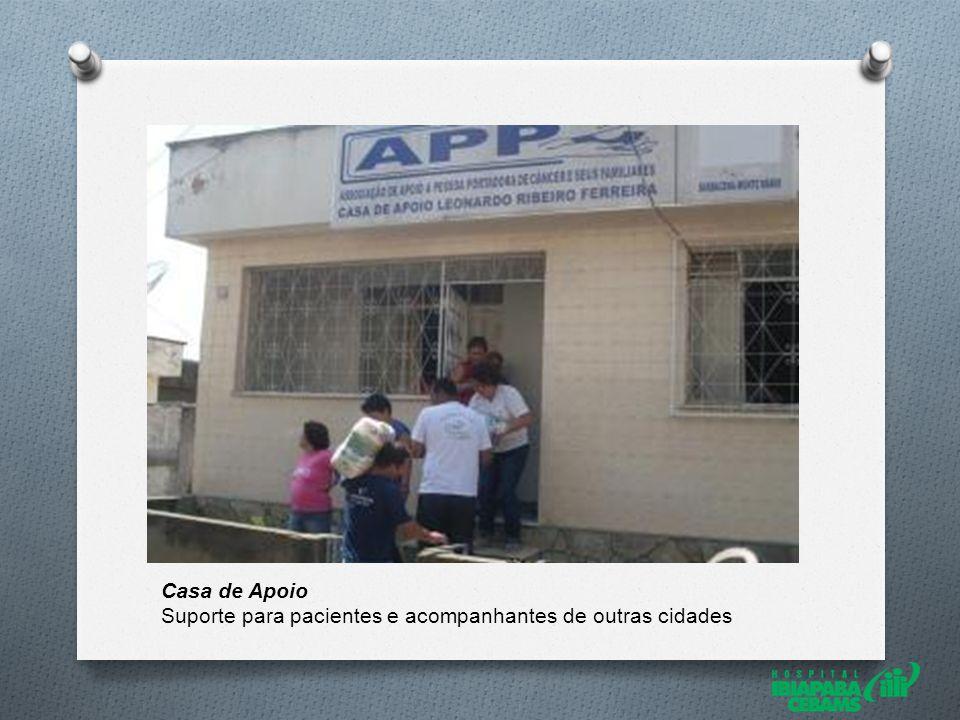 Casa de Apoio Suporte para pacientes e acompanhantes de outras cidades