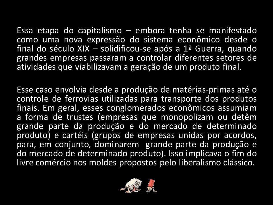 Os reflexos da crise de 1929 no Brasil manifestaram-se primeiramente na balança comercial, em função da dificuldade de vender o principal item de exportação do país – o café – para os Estados Unidos, maior comprador do produto no período.