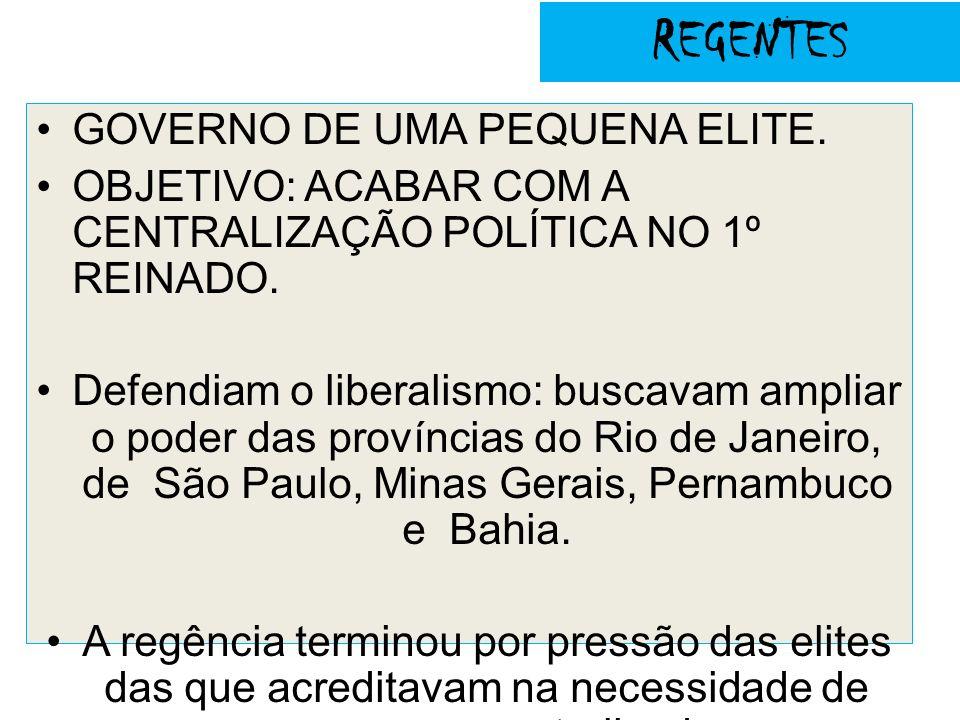 Sabinada 1837 -1838 A Bahia, desde o período colonial, se destacou como palco de luta contra a opressão política e o desmando governamental.
