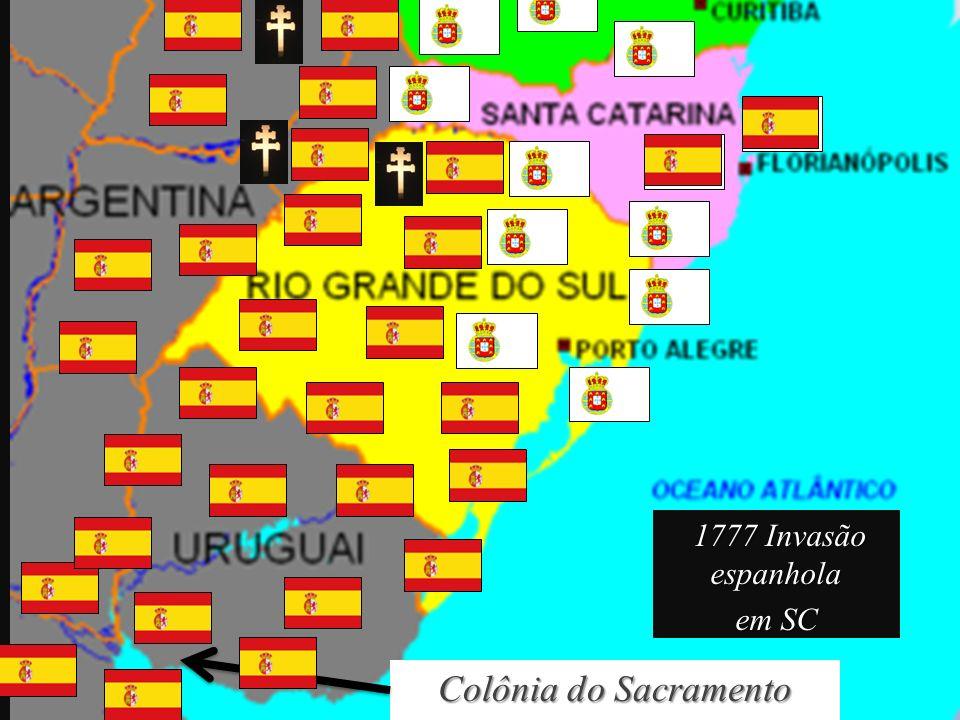 1777 Invasão espanhola em SC